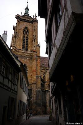 eglise st martin, st martin church, cathedral, kyrkan, katedralen i colmar