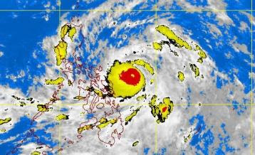 bagyong chededng latest update photo satellite