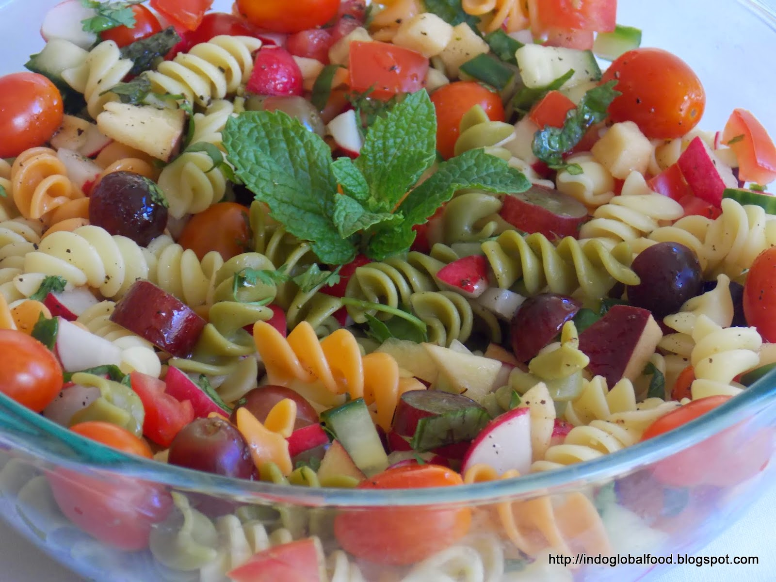 Simple cold pasta salad recipe how to make pasta salad Pasta salad recipe cold