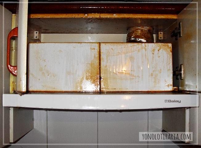 Mi cocina antes y despu s argh yonolotiraria - Restaurar paredes viejas ...
