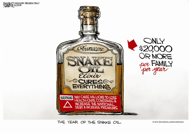 Blogs: Talking Politics with Tony Phyrillas: Obamacare Snake Oil