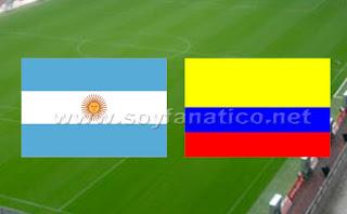 Argentina vs Colombia por Copa América 2015