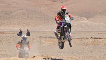 3 etapas del Dakar 2015 se correrán en Bolivia