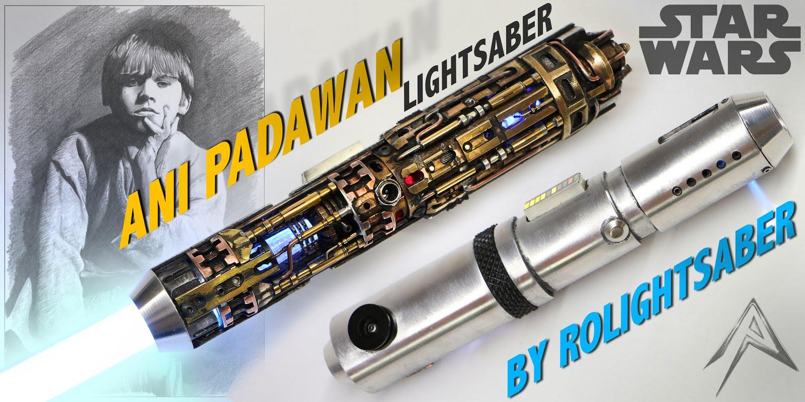 ANI PADAWAN lightsaber Cutaway