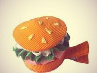 бургер заколка для волос, сайт бургер, приготовление бургеров, как сделать бургер, как приготовить бургер, бургеры домашние