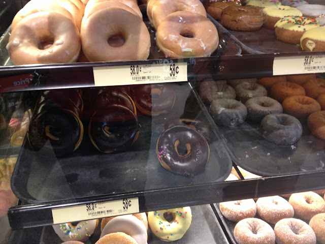 Walmart Bakery donut selection