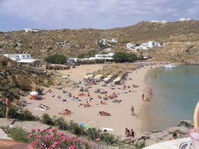 Islas griegas Mykonos playa