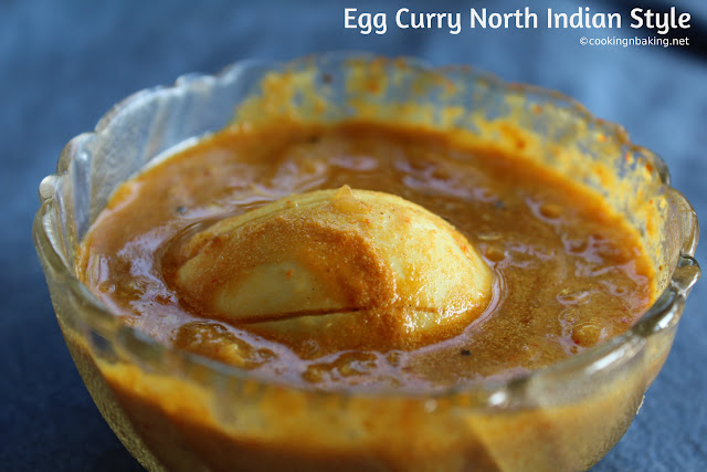 Egg Kurma - North Indian Style