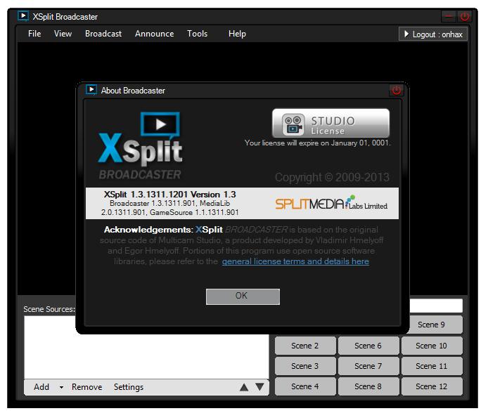 Xsplit 1.1 Beta Download