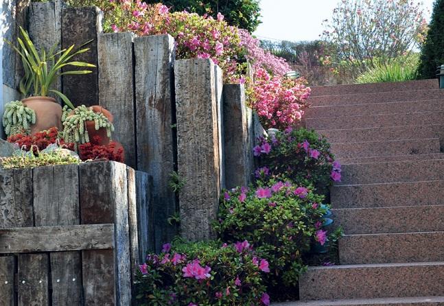 escadas externas jardim : escadas externas jardim:RI Arquitetura: Escada na área externa