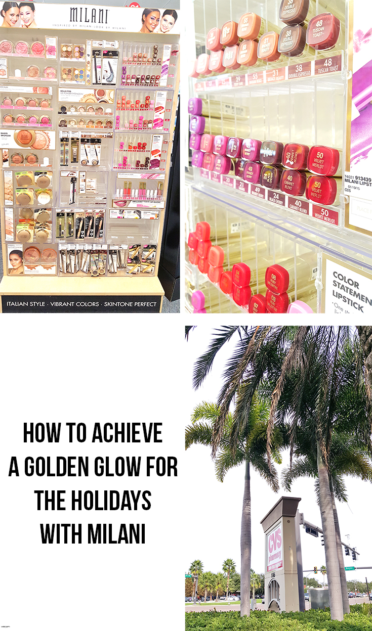 Check out how you can get a golden glow all winter long with this #LookByMilani!