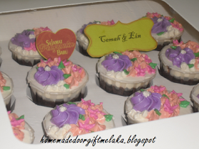 Cupcake for hantaran