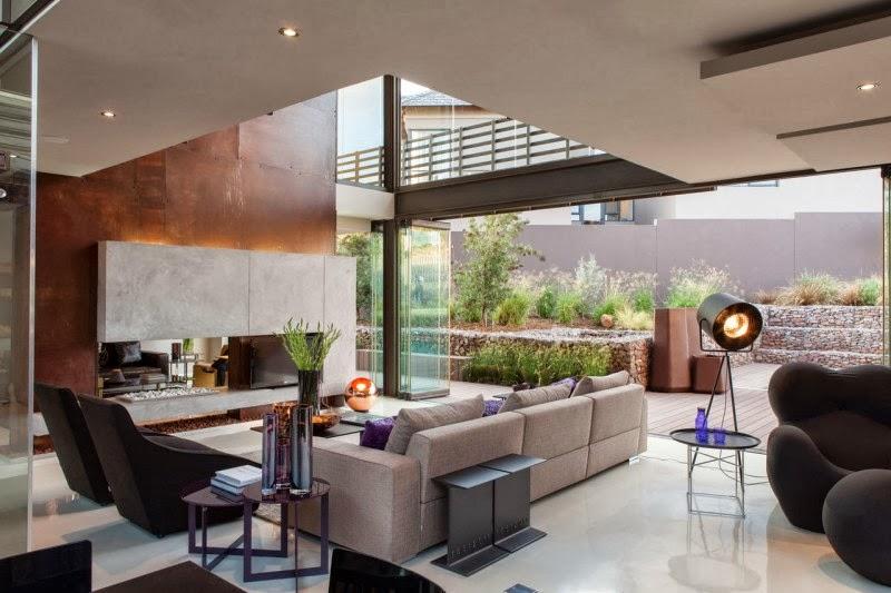 Hogares Frescos Casa Elegante Y Sofisticada Con Una