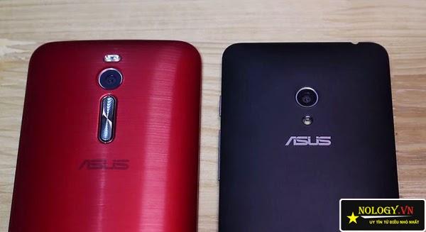 Asus Zenfone 2 và Asus Zenfone 5.