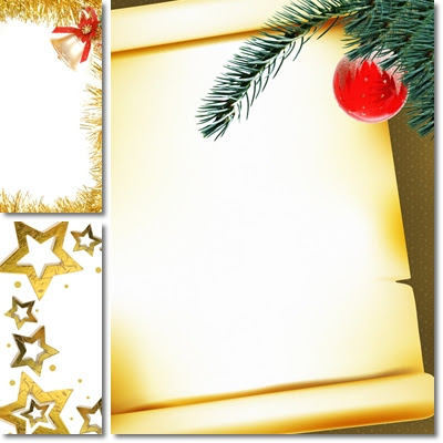 Beautiful Christmas Frames Wallpapers