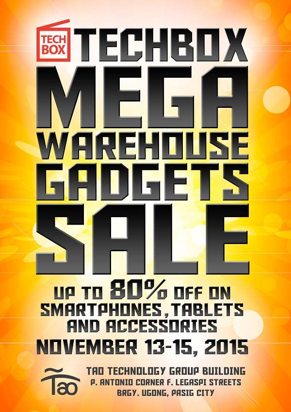 TechBox Philippines Mega Sale 2015