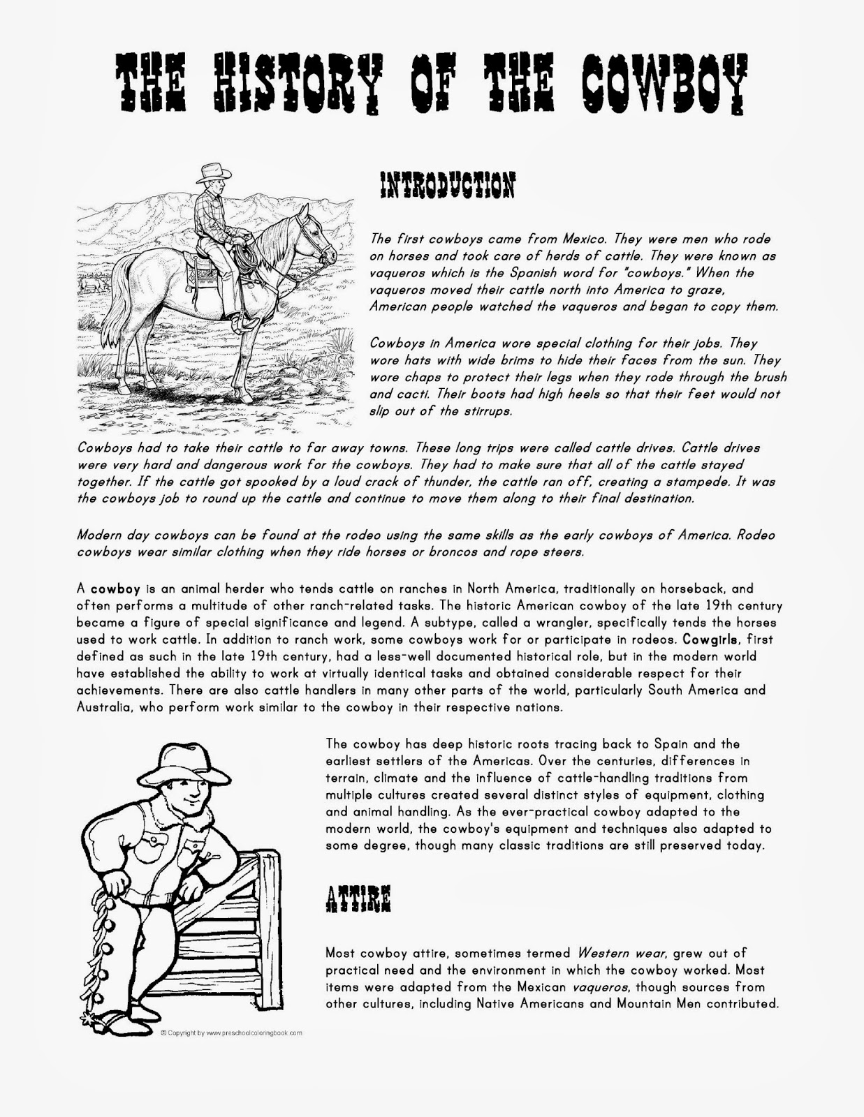 Delighted Why Are Cowboys Bad At Math Worksheet Answers Gallery ...