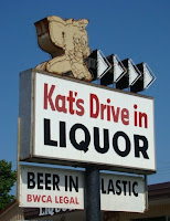 Kat's Drive In Liquors on Sheridan Street