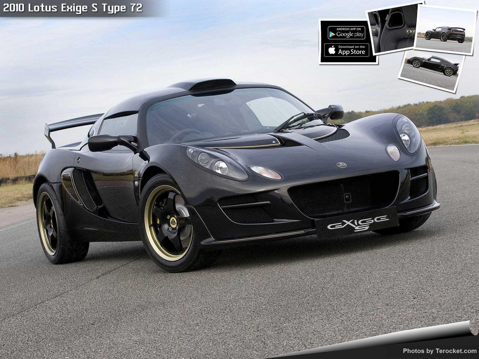 Hình ảnh siêu xe Lotus Exige S Type 72 2010 & nội ngoại thất