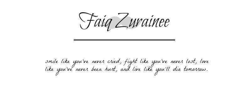 Faiq Zurainee