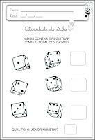 atividade de matematica para educação infantil