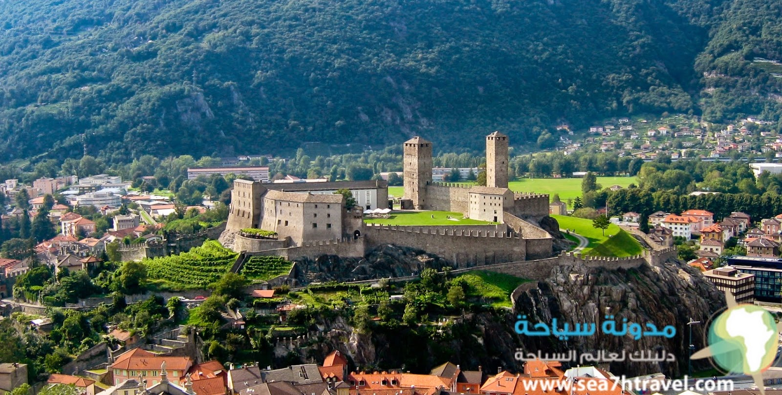 قلعة كاستلغراندي Castelgrande