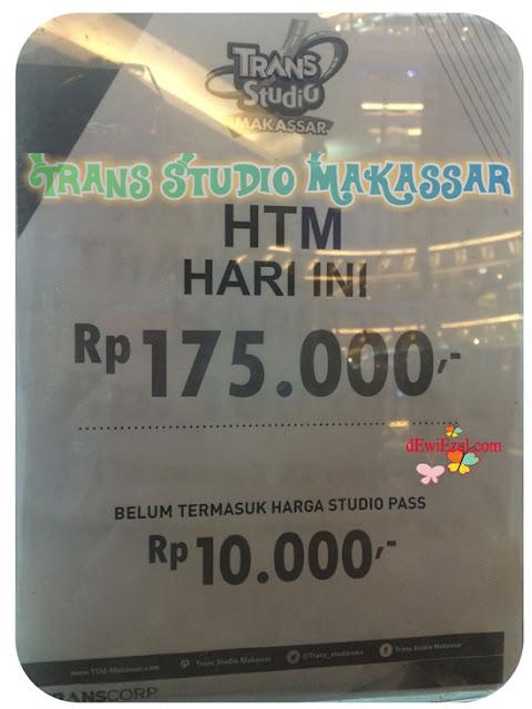 HTM Trans studio makassar