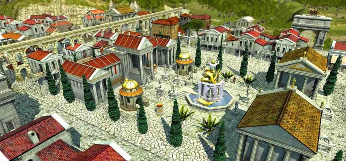 La grandeza de la antigua Roma