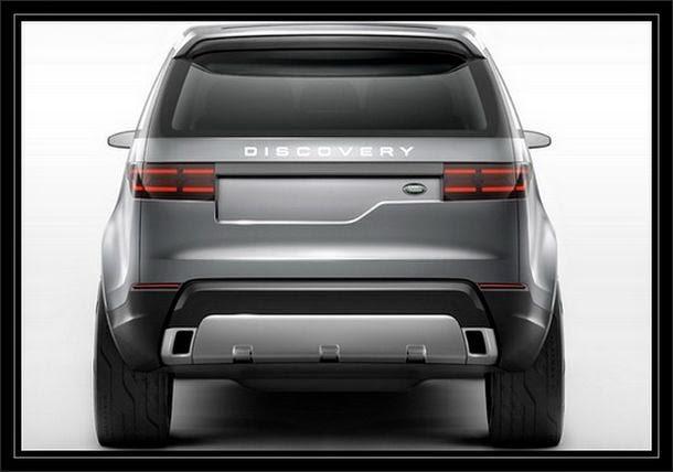 Land Rover 2016 traseira