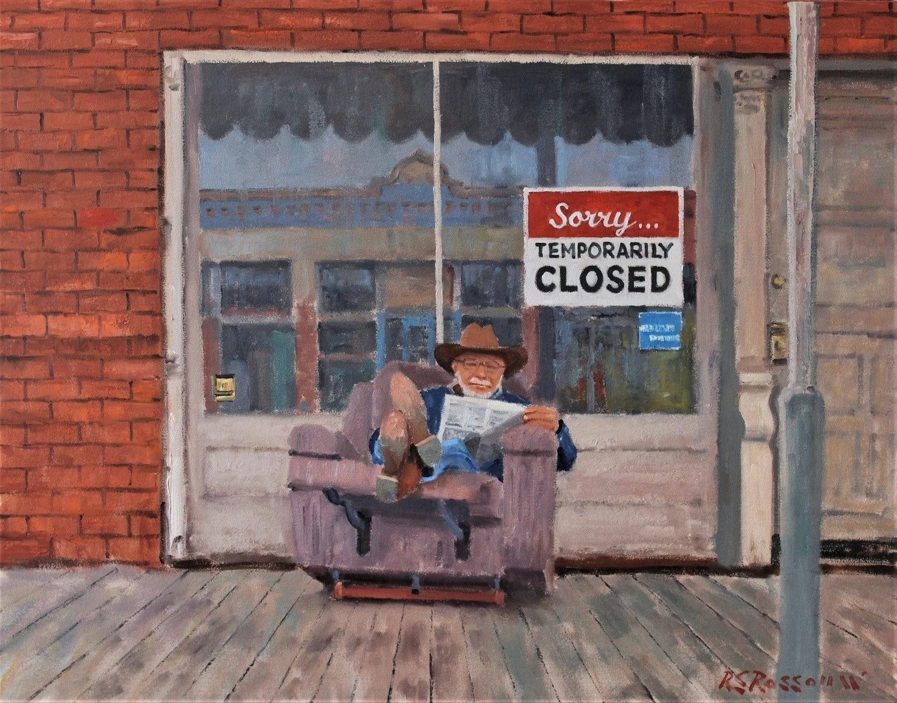Roelof Rossouw Sorry Temporarily closed