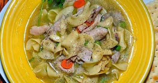 Chicken noodle soup - Moulinex my daily soup ...