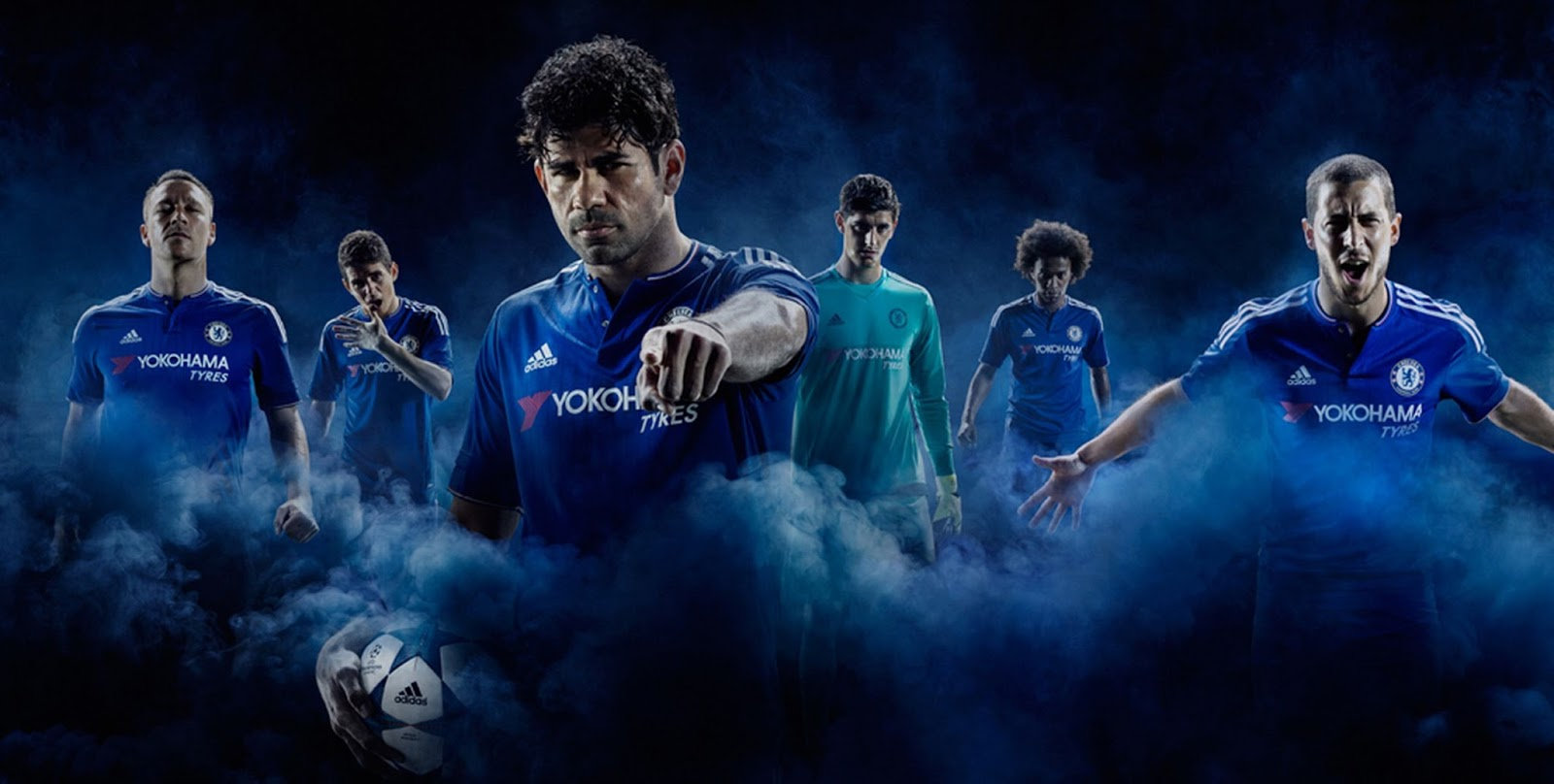 Pro soccer chelsea home 15 16 by adidas for Home wallpaper 2016