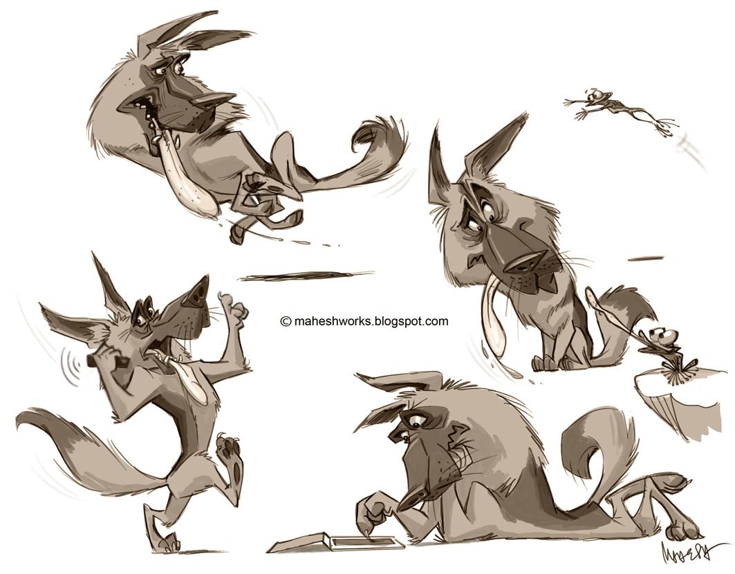 how to draw a cute german shepherd