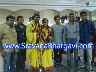 Sravana Bhargavi Marriage Photos