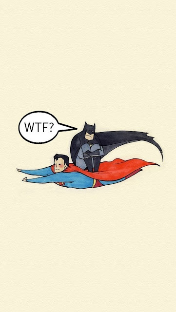 batman riding superman funny iphone wallpapers free 5s 5c 6