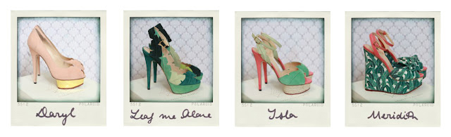 charlotte olympia shoes, charlotte olympia high heels, charlotte olympia spring summer collection '12