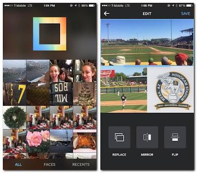تطبيق Layout من إنستغرام لدمج الصور بشكل احترافي لهواتف أندرويد وآيفون