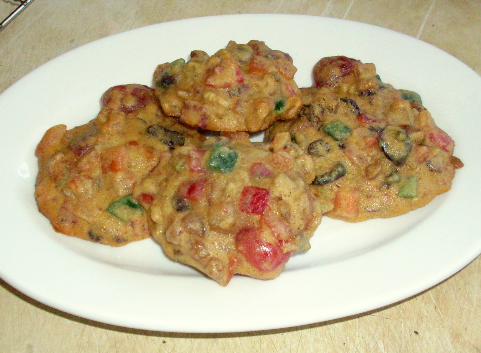 Fruitcake Cookies With Cake Mix