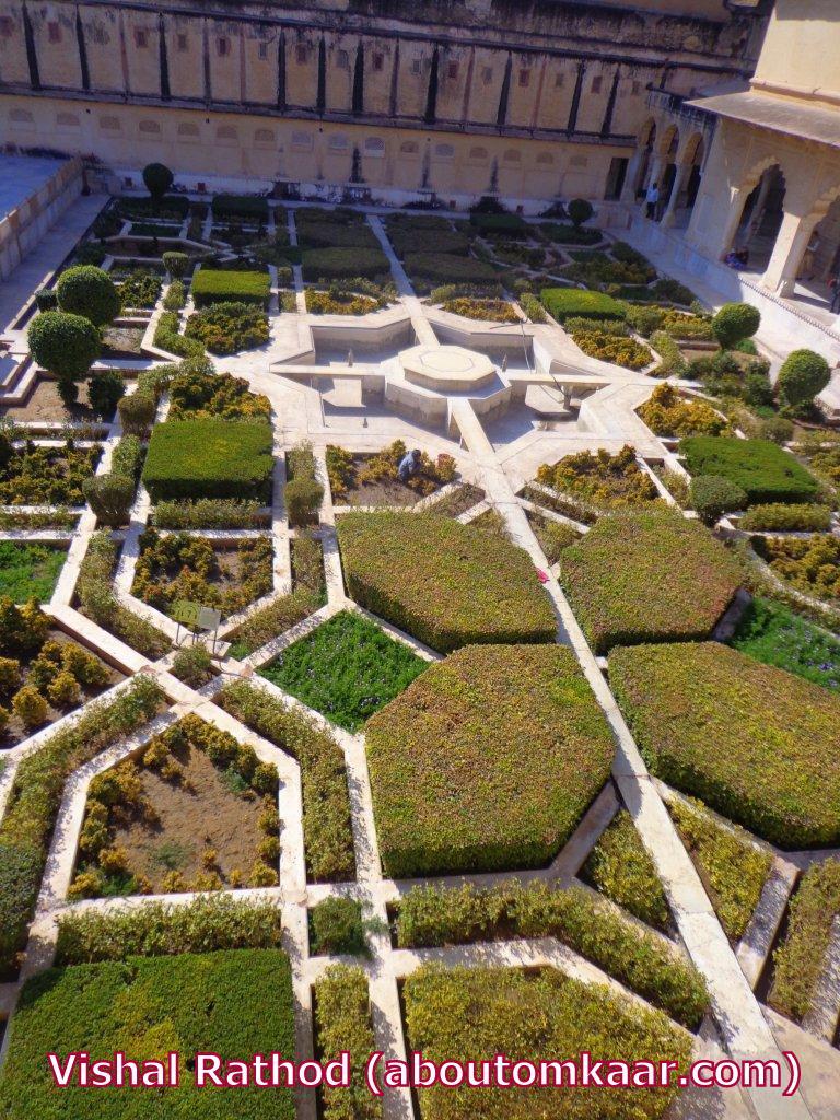 TRAVEL INDIA : JAIPUR : Amer fort (Amber Palace), Spellbinding Art