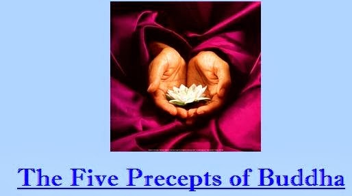 the five precepts of buddihism What are the followers of buddhism called a: quick answer the five precepts and the three trainings or practices buddhism also has an eightfo.