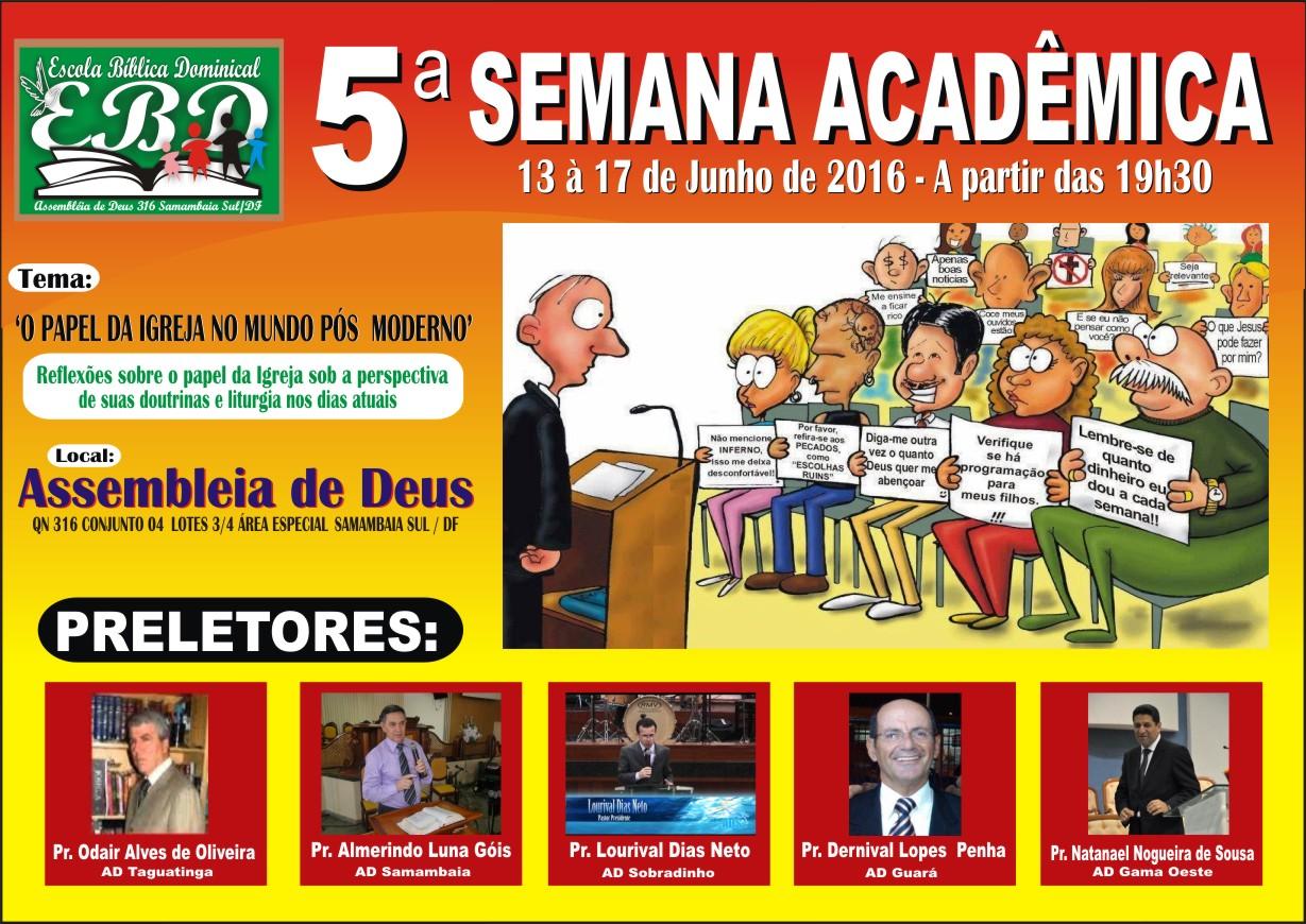 Semana Acadêmica 2016
