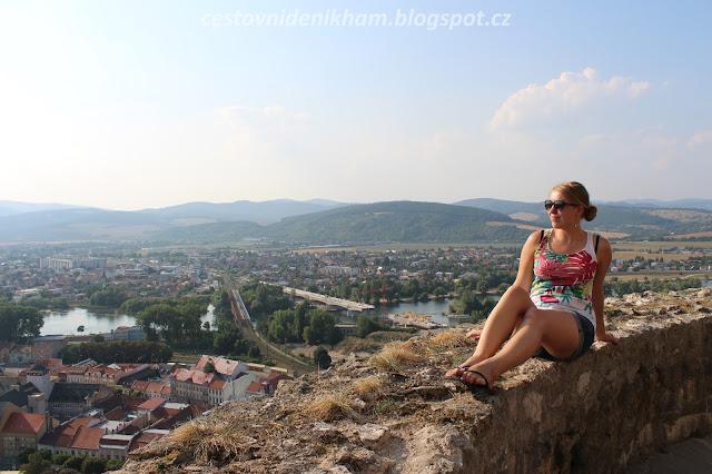 výhled na Trenčín // a view of Trencin