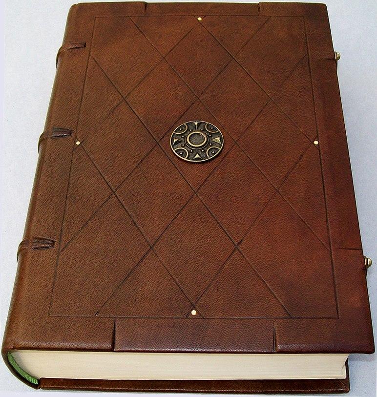 A flor de piel encuadernaci n - Como hacer un libro antiguo ...