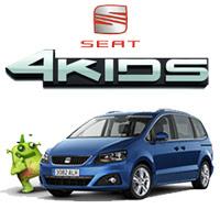 Nueva Gama Seat 4KIDS: Para viajar de cine