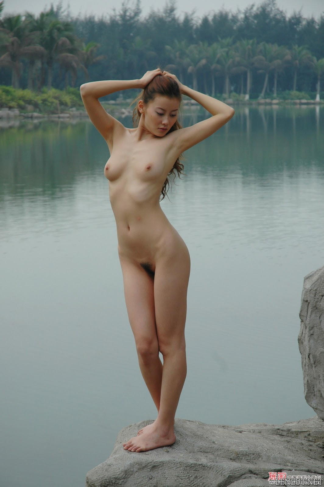 02 Ảnh nude người mẫu Trung Quốc