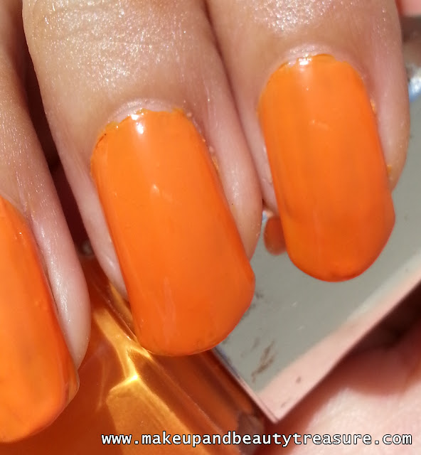 Lakme Color Crush Nail Enamel Shade No '07' Review
