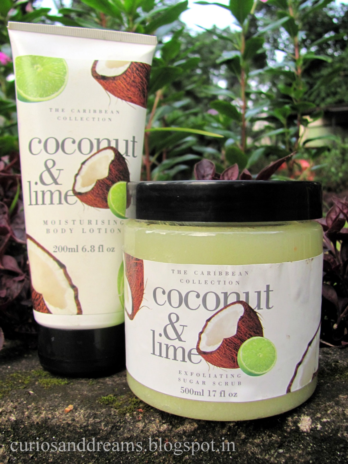 The Caribbean Collection , The Caribbean Collection Coconut & Lime review, The Caribbean Collection Coconut & Lime