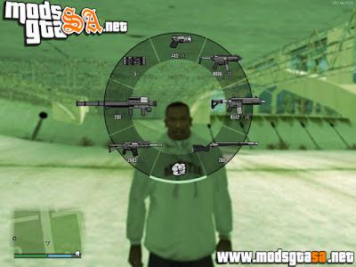 Novos HUD dos Ícones das Armas GTA V