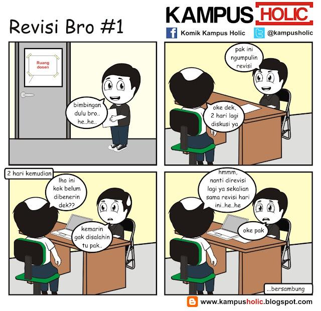 #172 Revisi Skripsi Bro, derita mahasiswa tingkat akhir..