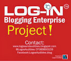 Log-In Blogging Project